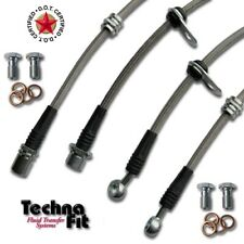 Techna-Fit Stainless Steel Braided Brake Line For 06-19 Toyota Rav4 Rav 4 306110