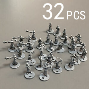 Lot 32PCS Dungeons & Dragons DND Role Playing Miniatures Board Game Figures Set