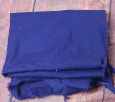 Vintage 1970s dark blue fabric