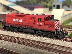 Custom Atlas CP Rail GP9u, DCC, Ditch Lights, Detailed, Weathered, IOB!