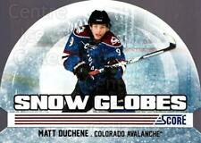 2011-12 Score Snow Globes #7 Matt Duchene