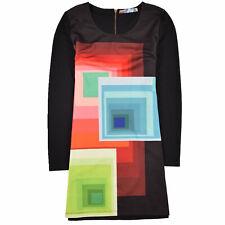 Desigual Damen Kleid Dress Casual Gr.XL (DE 42) Freizeit Mehrfarbig 89959