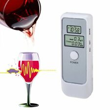Handheld Digital Dual LCD Blood Alcohol Tester Analyzer Breathalyzer Detector $$