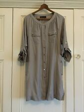 Maggie T Dress Shirt Tunic Top Size 14 ( But Seems Smaller)