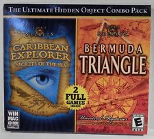 Lost Secrets Caribbean Explorer & Bermuda Triangle PC Game - 2 Games on 1 Disc!