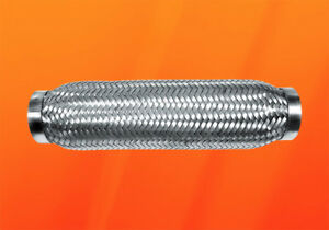 Tubo Flex 50x280 Acero Inox. Tubo Flexible - Trenzado Guarnición V2A