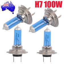4x 12V H7 100W Xenon White 6000k Halogen Car Head Light Lamp Globes Bulb NSW