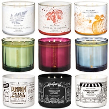 Bath & Body Works White Barn Large 14.5oz 3-Wick Candle With Lid