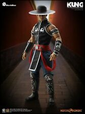 Mortal Kombat KUNG LAO 1/6 Scale FIGURE World Box Video Game PlayStation *NEW*