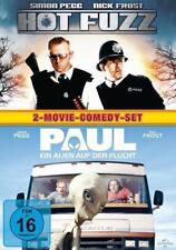 Hot Fuzz + Paul - Ein Alien auf der Flucht DVD BOX - 2 Filme NEU/OVP