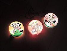 Mickey Minnie Mouse Mickey's Christmas Carol Tree Plaques Lights Disney (e986)