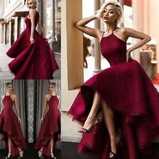 2017 High Low Lace Prom Dresses Cocktail Party Ball Formal Evening Gowns Custom