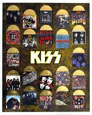 Mini Album Commemorative Die Cut Logo Poster KISS