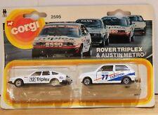 Corgi 2595 Rover Triplex and Austin Metro Brand New in Packaging