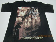 AT THE GATES gardens of grief T-SHIRT MEDIUM or LARGE, GROTESQUE  LIERS IN WAIT