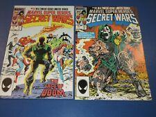 Marvel Super-Heroes Secret Wars #10,11 lot of 2 Avengers FVF to VF