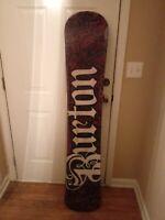 Burton Bullet 64 Snowboard Fly Core Black/Gray/Pink 164cm
