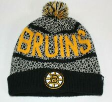Boston Bruins Beanie Pom Ski Hat