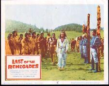 WINNETOU original 11x14 movie lobby card poster PIERRE BRICE/KARL MAY