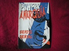 Libro comic Powers Anarquia BENDIS Y OEMING Planeta ESPAÑOL