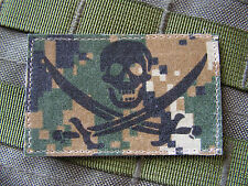 SNAKE PATCH ..:: CALICO JACK ::.. CAMO MARPAT DIGITAL WOODLAND USMC marines TCU