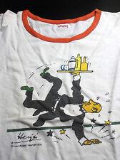 RARE ancien tee shirt pour enfant Lombard 1976 Tintin Tim Kuifje