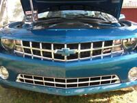 2010-2013 Chevy Camaro chrome grille grill insert overlay trim