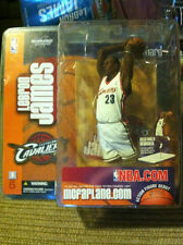 BRAND NEW Lebron James ROOKIE Cleveland  Cavaliers McFarlane White Jersey Figure