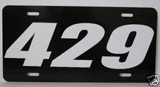 429 Engine Size License Plate Fits Ford Cobra Jet Mach