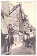 CPA 89 - JOIGNY (Yonne) - 42. Maison de l'Arbre de Jessé - Petite animation