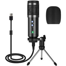 Pro Kondensator microphone Mikrofon Kit Komplett Set für Studio Aufnahme