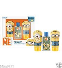 Despicable Me 2 Minion Kids Fragrance & Shampoo,Shower Gel Gift Set