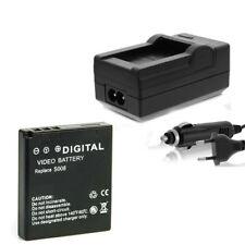 Batería + CARGADOR para la richo db-70 cx1, cx2, Caplio r6, Caplio r7, Caplio r8, r10
