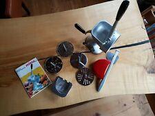 minna küchenmaschine mit 5 verschiedenen Edelstahlscheiben