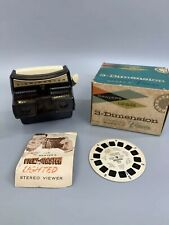 Vintage Sawyers View-Master Lighted Stereo Viewer Model F Original Box