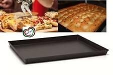 BALLARINI TEGLIA RETTANGOLARE IN FERRO BLU SVASATA PER PIZZA PIZZE PIZZERI 45x30