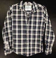 Frank & Eileen Women's Barry Shirt Top Mallard Plaid Flannel Size L Large $228