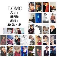 HQ 30pcs set Kpop EXO KAI For Life Personal Photocard Poster Lomo Cards