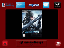 METAL GEAR RISING REVENGEANCE STEAM PC DOWNLOAD KEY GAME NUOVO spedizione LAMPO