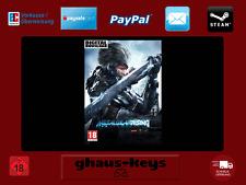 METAL GEAR RISING REVENGEANCE Steam Pc Download Key Game Neu Blitzversand