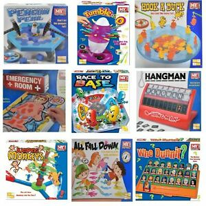 Traditional Classic Family Board Games Kids Indoor Fun Toy Game Children Modern