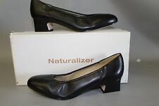 NEW Women's Naturalizer Roslyn Size 9 2A (Narrow) Black Leather Dress Shoe