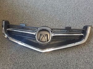 Fits 2004 2005 Acura TSX Grill Grille W/ Chrome Molding GB-HDA7000A
