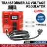 0-130V 20A Variable 2000W AC Power Transformer Regulator 20Amp 110V Variac