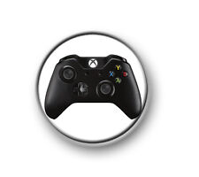 "XBOX ONE CONTROLLER / 1"" / 25mm pin button / badge / gaming / 360 / console / PS"