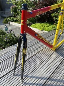 Lovely Cannondale CAAD 3 R800 Aluminium Frame & Time Straight Blade Forks - 56cm