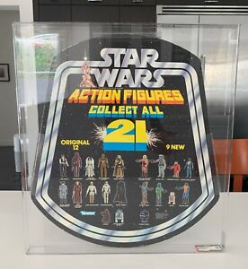 Vintage 1979 Kenner Star Wars Collect All 21 Display Bell AFA 75