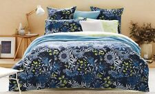 SHERIDAN PATONGA CITRON Double Bed Size Doona Duvet Quilt Cover Set 100% Cotton