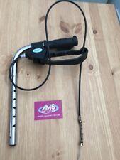 NRS 4 Wheel Rollator Walking Aid Left Push Handle & Brake Unit - Parts B