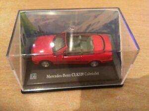 CARARAMA - Mercedes-Benz CLK320 Cabriolet 1/72 SCALE / 00 GAUGE MODEL CAR